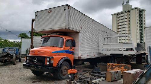 mercedes benz mb 1113 truck bau 11,20m maleiro