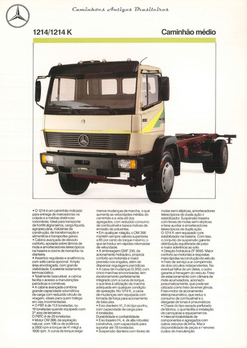 mercedes-benz mb 1214 c só 33.000,00