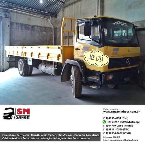 mercedes benz mb 1214 carroceria 6 cc