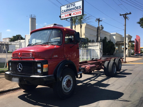 mercedes-benz mb 1313 6x2 no chassi