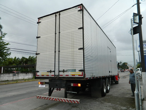 mercedes benz mb 1318 2011 bau 9,50 x 3,00 mts, unico dono
