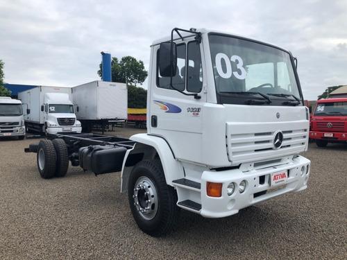 mercedes-benz mb 1420 4x2 2003/2003 - ativa caminhões