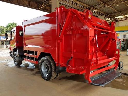 mercedes-benz mb 1518 caixa compactador de lixo