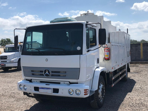 mercedes-benz mb 1718 comboio 6.000 litros diesel completo