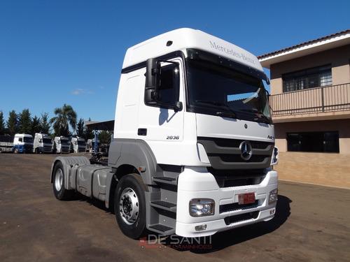 mercedes-benz mb 2036 2015/16 4x2 automático