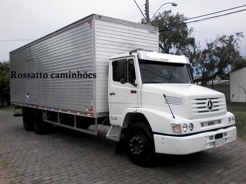 mercedes-benz mb 2318 super novo rossatto caminhões