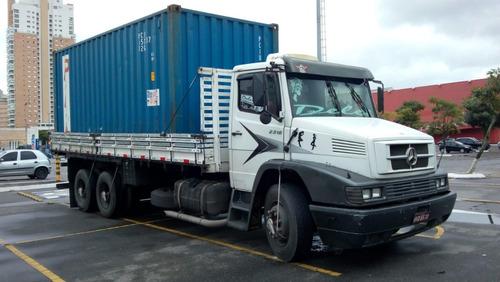 mercedes-benz mb 2318 truck porta-contâiner