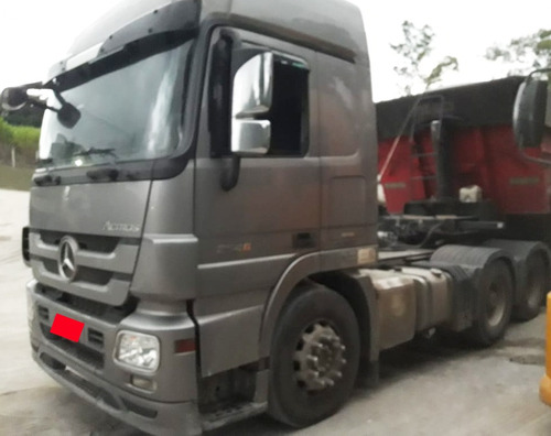 mercedes-benz -mb- 2546- 6x2- 2012/12- prata .