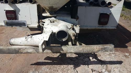 mercedes-benz mb 608 bomba schwing pedra 0 concreto