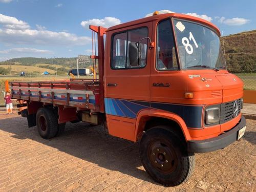 mercedes-benz mb 608 d 1981