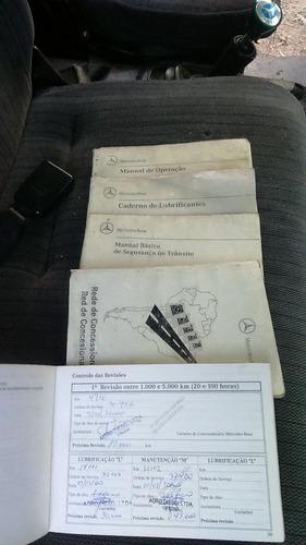 mercedes-benz mb 712 1999 sider - 2º dono