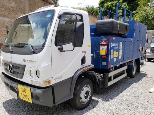 mercedes-benz mb 815 4x2 comboio gascom lubrificante diesel