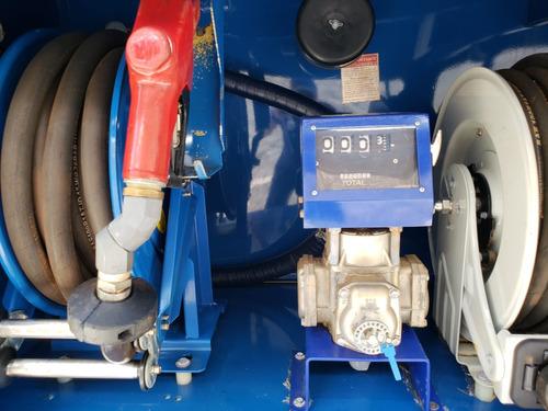 mercedes-benz mb 815 comboio gascom pressolub completo