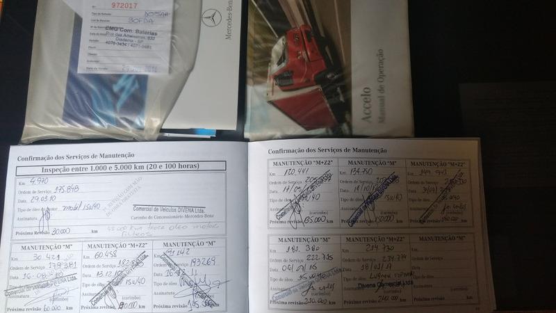 mercedes-benz mb 915 accelo 2009. unico dono 11 9 8383-0663.