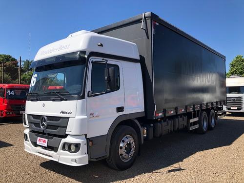 mercedes-benz mb atego 2426 6x2 2016/2016 - ativa caminhões
