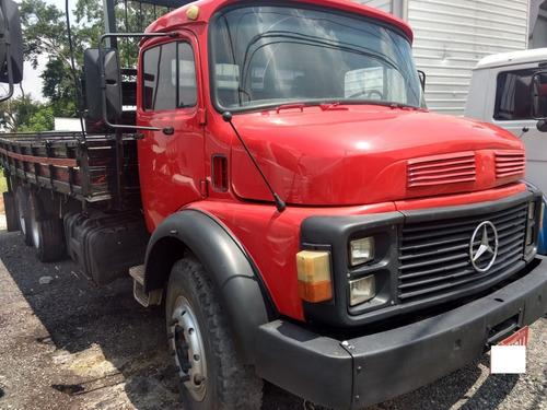 mercedes-benz mb l 1516 ano 1987 truck carroceria