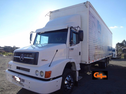 mercedes benz mb l-1620 2010 baú 9,85