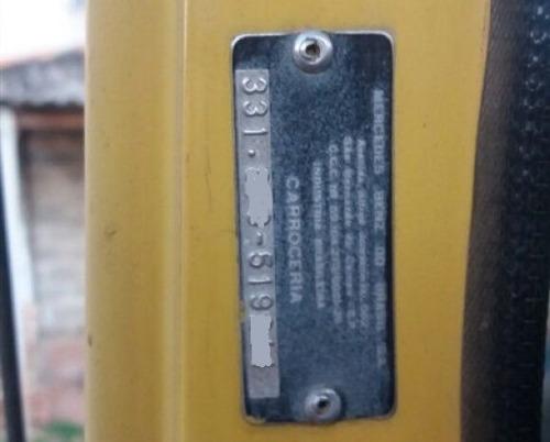 mercedes-benz mb l1113 toco 4x2 carroceria ano 1985