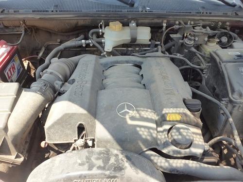 mercedes benz ml 320 2003,desvielada,transmision 4x4 partes