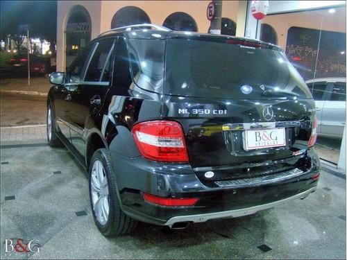 mercedes benz ml 350 cdi sport 3.0 diesel - 2010 blindado