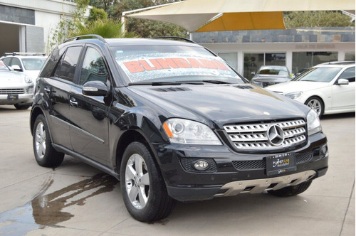 mercedes benz ml 5p ml 500 aut. piel q/c 2007