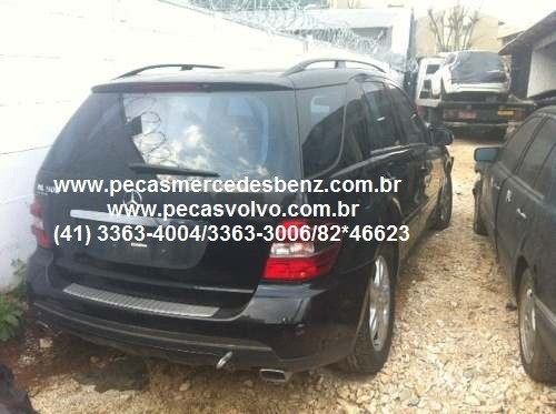 mercedes benz ml500 peças/motor/porta / vidro