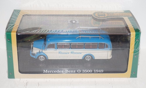 mercedes benz o 3500 1949 coleccion atlas escala 1/72