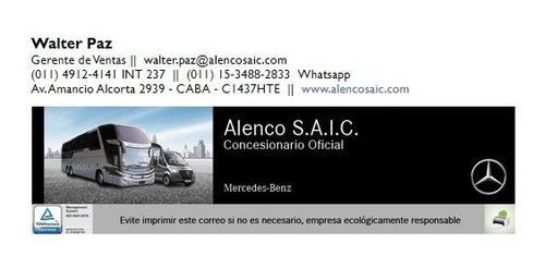 mercedes benz o500 rs  niccolo 42 asientos 2014