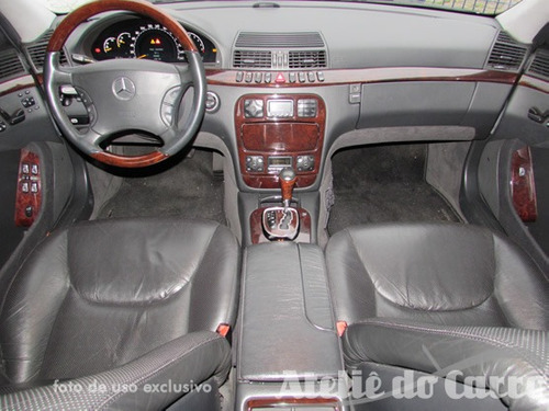 mercedes benz s500 1999 vendida - ateliê do carro