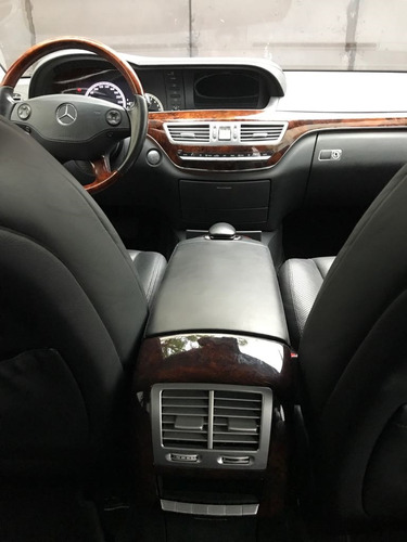 mercedes benz  s500 largo negro 2008