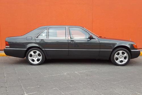 mercedes benz s600 1994 blindado nivel 7