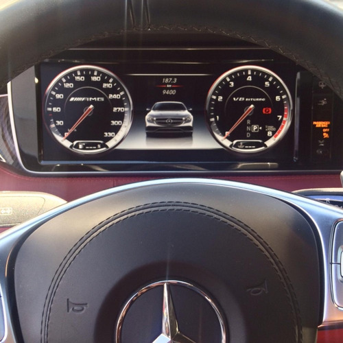 mercedes benz s63 amg coupé 2015 blanco.