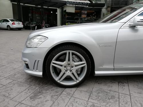 mercedes benz s63 l amg biturbo 2013 plata