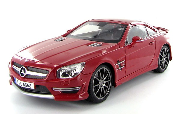 mercedes benz sl 63 amg coupe maisto premier 1 18 bs 42. Black Bedroom Furniture Sets. Home Design Ideas
