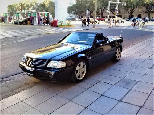 mercedes benz sl500 v8 5.0 roadster