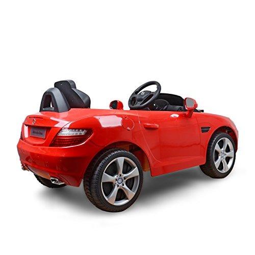 mercedes benz slk clase 6v kids electric ride-on coche con