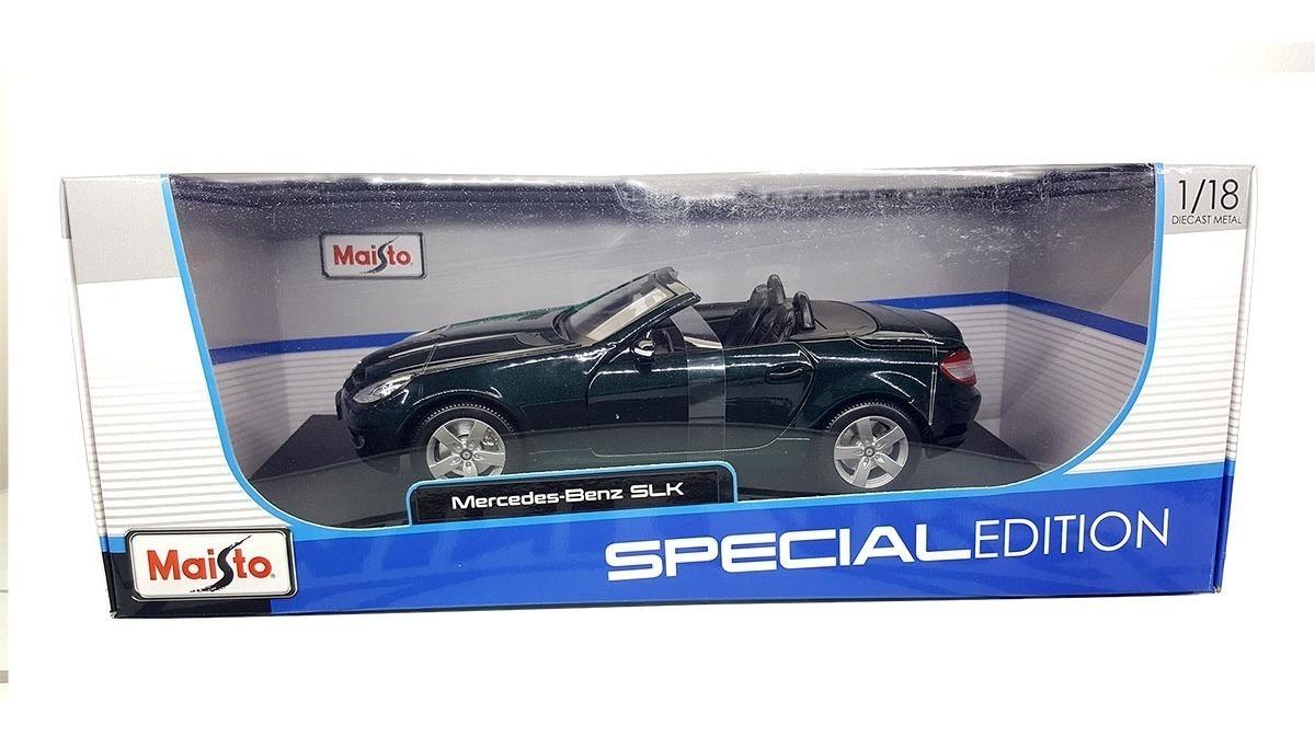 Verde Mercedes 118 Autos A Benz Slk Os Escala Metal Maisto 8n0OkwXP