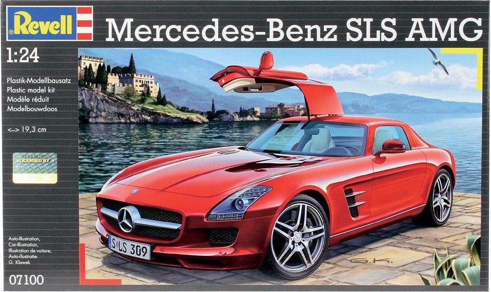 Mercedes Benz Sls Amg Revell   Modelo Para Montar   Lacrado. Carregando  Zoom.