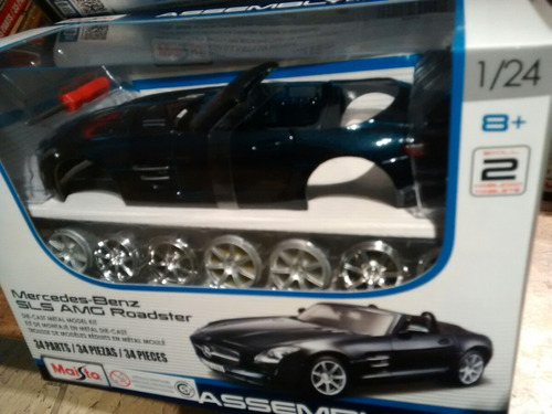 mercedes - benz sls amg roadster 1:24