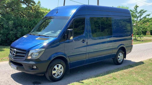 mercedes-benz sprinter 2017 2.1 415 3665 te mixto 4+1 black