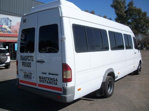 mercedes-benz sprinter 2.1 413 minibus 19+1 excelente estado