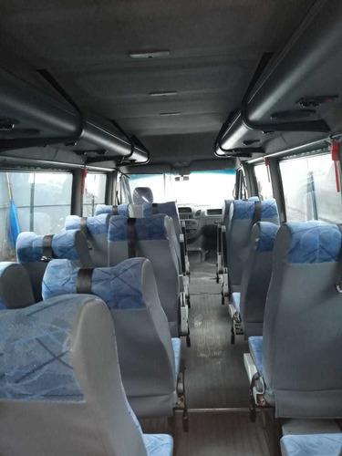 mercedes-benz sprinter 2.1 413 minibus 19+1 sin airbag 2010