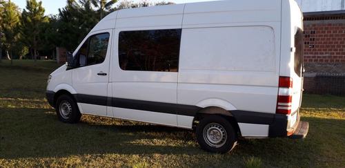 mercedes-benz sprinter 2.1 415 furgon 3665 te mixto 4+1 2013