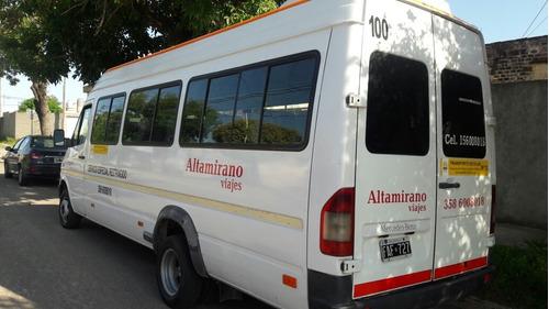 mercedes-benz sprinter 2.5 413 minibus 4025 19+1 2005