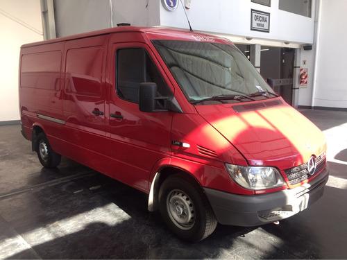 mercedes benz sprinter 313cdi furgon largo bajo c/aa 2008