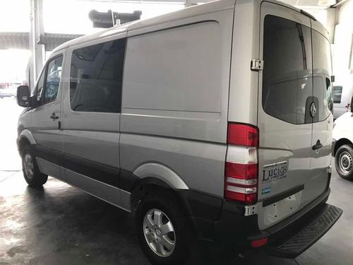 mercedes-benz sprinter 411 furgon mixto gris plata 0km ya!!!