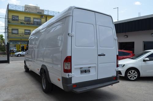 mercedes benz sprinter 413 furgon c/duales