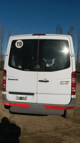 mercedes benz sprinter 415 2.1 2013 furgon 3 puertas