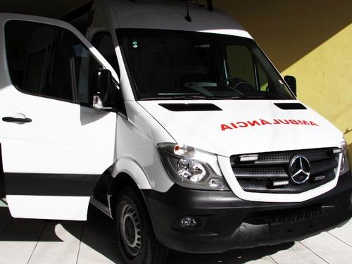 mercedes benz sprinter 415 ambulância 2019 uti completa