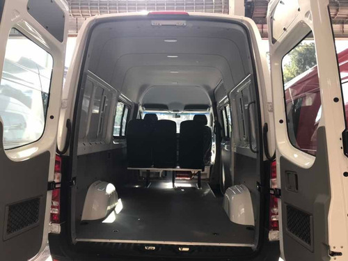 mercedes-benz sprinter 415 furgon largo te mixto 4+1 aa 2019